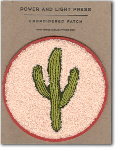Saguaro Chenille Patch