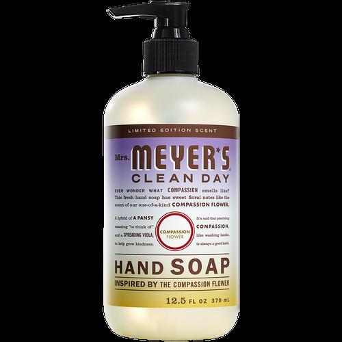 mrs meyers liquid hand soap compassion flower