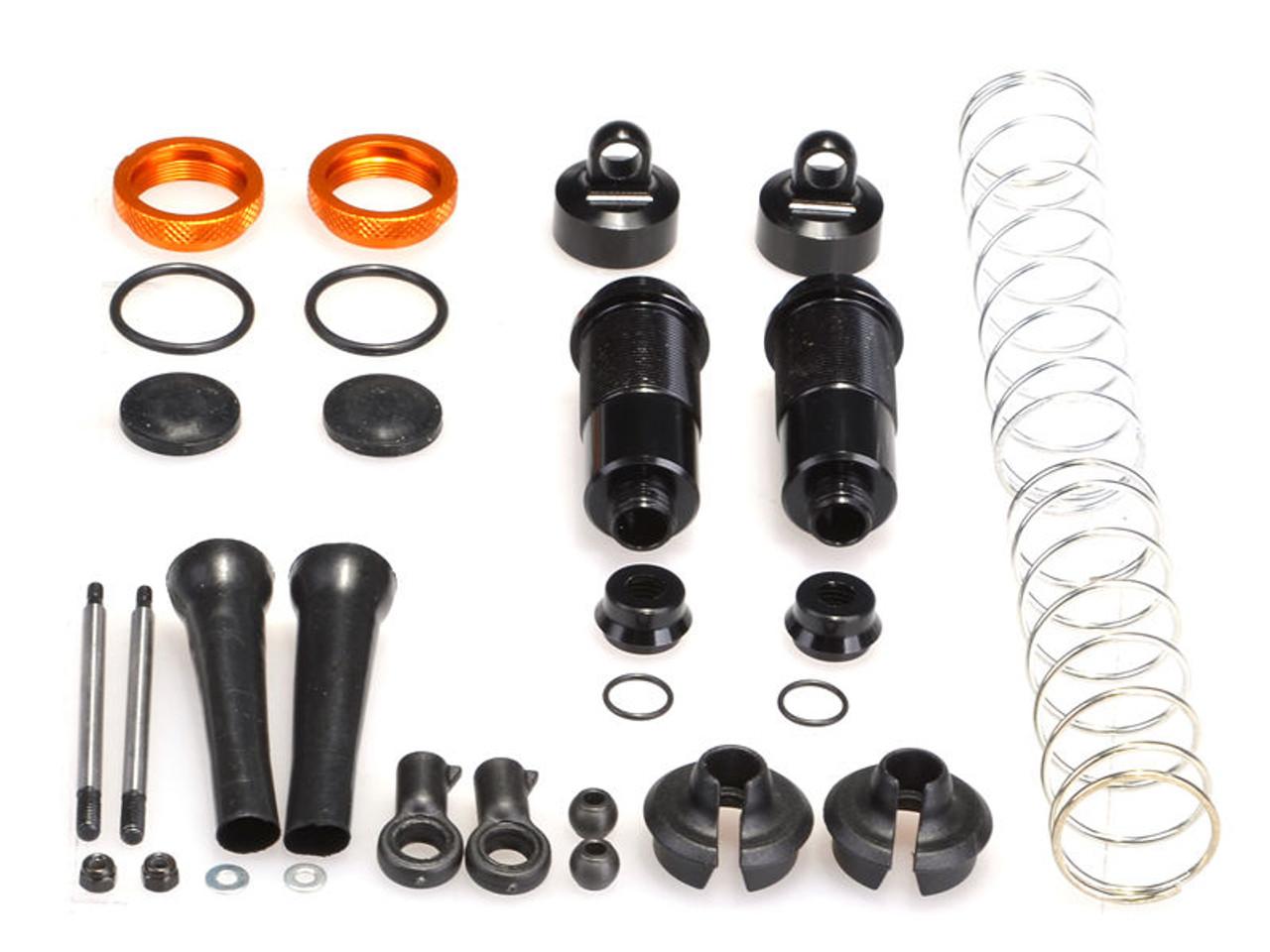 JQ Racing Rear Silk Shocks (2pcs) (YE)