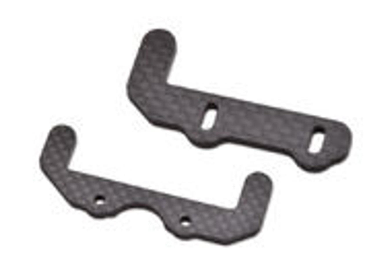 JQ Racing BLACK eCar Carbon Battery Lower Holders