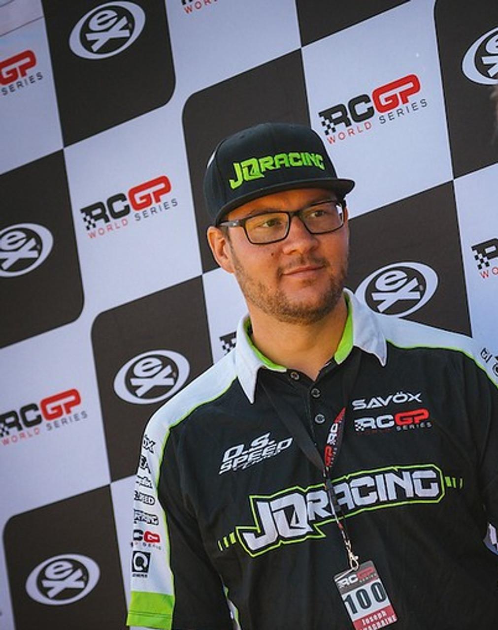 JQ Racing 2019 RCGP Collard Dye-Sub Team Shirt (X-Large)