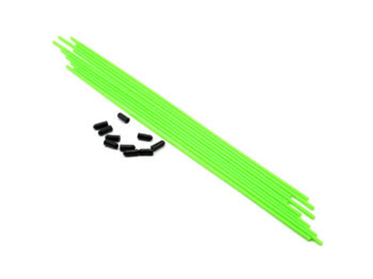 JQRacing Antenna Tube (Green) 10pcs (JQA024)