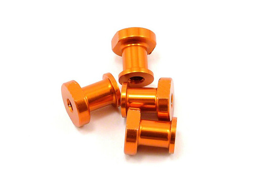 JQ Racing Light Weight CNC Standoff for 1-Piece (Gold) (YE, RTR)