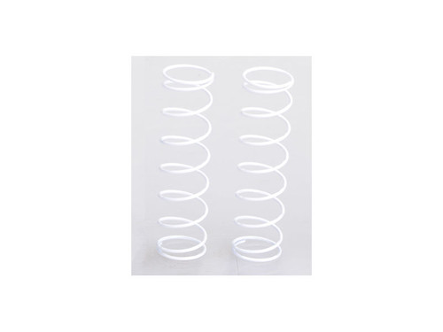 JQ Racing Rear Springs 8.5-Coil 85mm Med (White) (WE, BE)