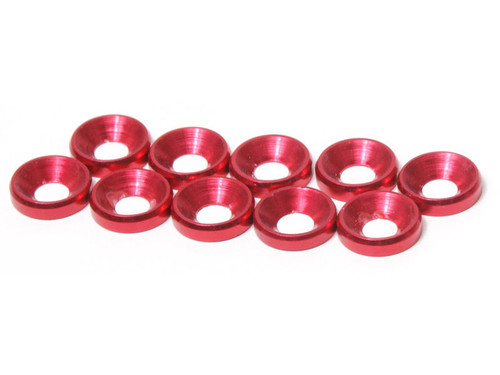 JQ Racing M4 CS Washer 10pcs (Red)