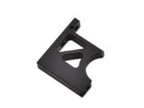 JQ Racing BLACK eCar Centre Diff Mount Top Front