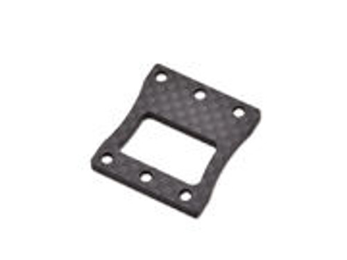 JQ Racing BLACK eCar Centre Diff Mount Carbon Top