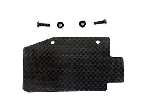 Assault RC 1mm Carbon Fiber Fuel Tank Guard for JQ Racing Black Edition