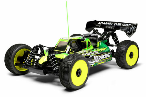 "QRacing ""THE Car"" 1/8 Off-Road Nitro Buggy Kit (Black Edition) (JQB0777)"
