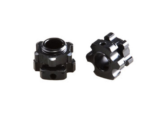 JQRacing Lightweight +1mm Hex & Nuts (2pcs) (JQB0194)