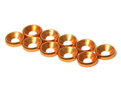 JQRacing M4 CS Washer 10pcs (Gold) (JQA0033)