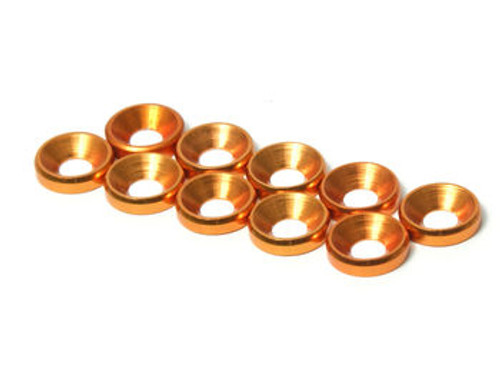 JQRacing M3 CS Washer 10pcs (Gold) (JQA0028)