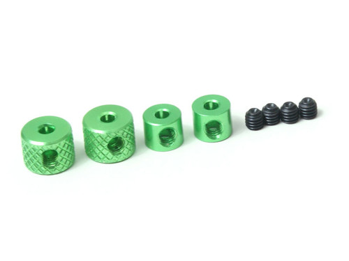 JQRacing Linkage Collars (Green) (JQB0153)