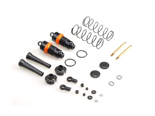 JQRacing Complete 16mm Silk Front Shocks (2) (JQB0334)