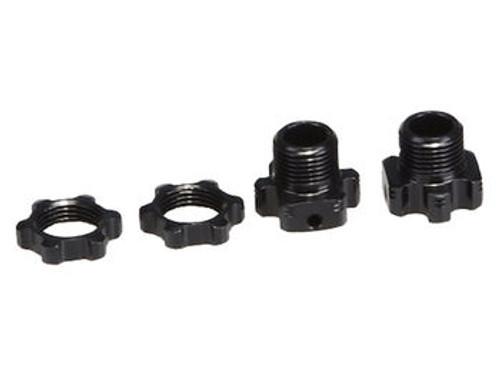JQRacing Lightweight +2mm Hex & Nuts (2pcs) (JQB0226)