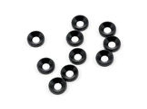 JQRacing M4 CS Washer 10pcs (Black) (JQA037)