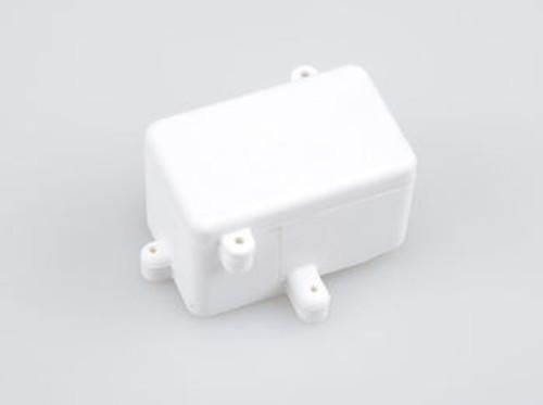 JQRacing 2013 White Rear Radio Box (BE, WE) (JQB0292LE)
