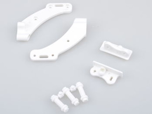 JQRacing White Wingmount (JQB0002LE)