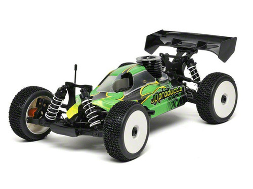 JQRacing THECar RTR Nitro Green Body (JQR0001)