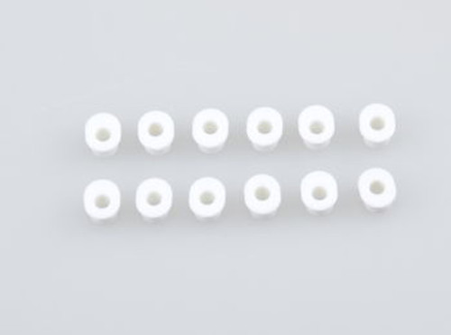 JQRacing White Oval Arm Holder Inserts (JQB0022LE)
