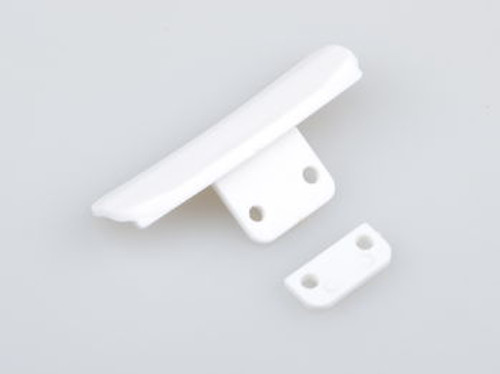 JQRacing White Bumpers (JQB0019LE)