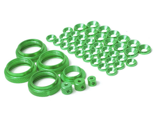 JQ Racing THE Full Color Kit (Green)
