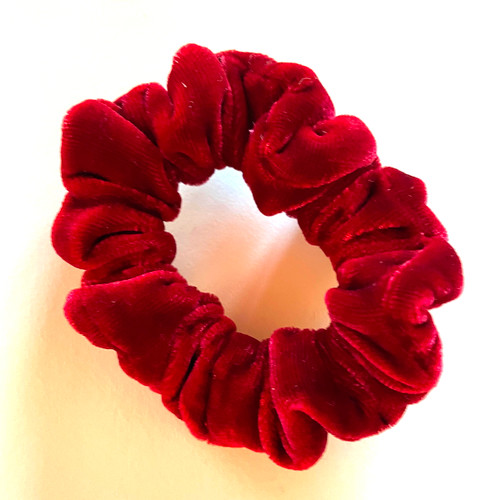 Red Velvet Scrunchie