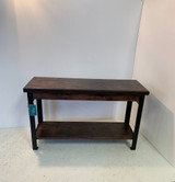 Single Shelf Steel Leg Bench In Your Choice Of Color