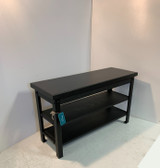 Two Shelf Steel Leg Bench In Your Choice Of Color