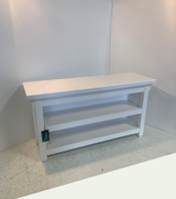Closed Sides Two Shelf Bench In Your Choice Of Color