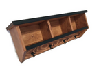 Steel Edge Cubbie Coat Rack in your Choice of Colors and Size