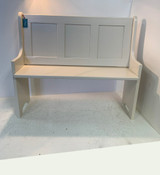 """36"""" Shaker Style Pew Bench with Straight Arms"""