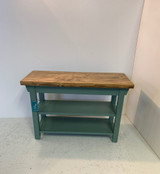 Two Shelf Bench in your Choice of Colors and Size