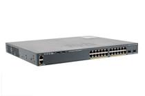 Cisco 2960-X Series 24 Port 370W PoE+ Switch, WS-C2960X-24PD-L