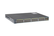 Cisco 2960 Series 48 Port PoE Switch, WS-C2960+48PST-L