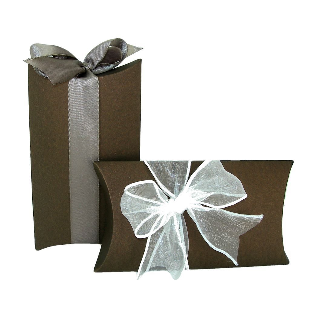 Pillow Box Favors - Bronze Shimmer, Set of 6