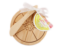 Citrus Cheeseboard and Spreader, Set of 4