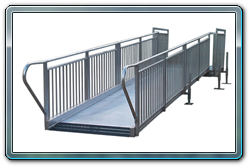 All Aluminum ADA Compliant Handicap Ramp