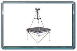 4 x 4 camera platform with diagonal braces.