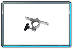 Quik Stage straight Quick Clamp used to attach cross braces to your middle stage legs.