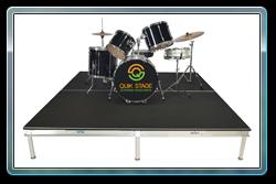8 x 8 Drum Riser with Legs