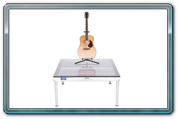 4 x 4 Plexiglas guitar riser.