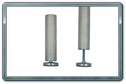 Set of 4 each fixed height stage legs for 4 x 4 stage decks or smaller