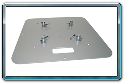 Quik Stage truss bases. 5 sizes available.