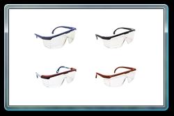Hornet safety glasses. 4 frame color choices.