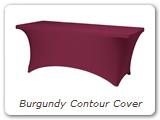 Burgundy Contour Cover