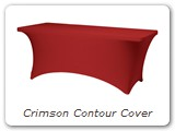 Crimson Contour Cover