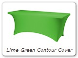 Lime Green Contour Cover