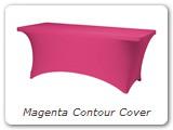 Magenta Contour Cover