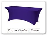 Purple Contour Cover